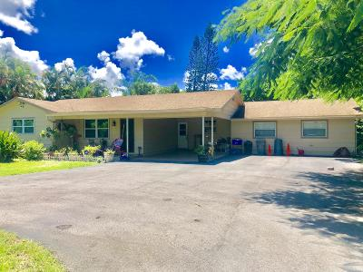West Palm Beach Single Family Home For Sale: 323 Kirk Road