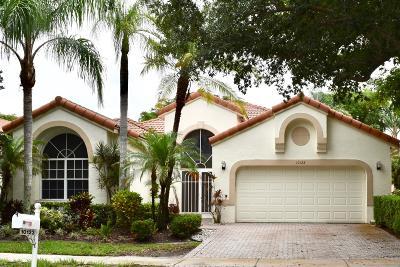 Boynton Beach Single Family Home For Sale: 10123 Diamond Lake Drive