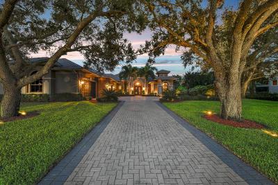 Palm Beach Gardens Single Family Home For Sale: 8294 Native Dancer Rd Road E