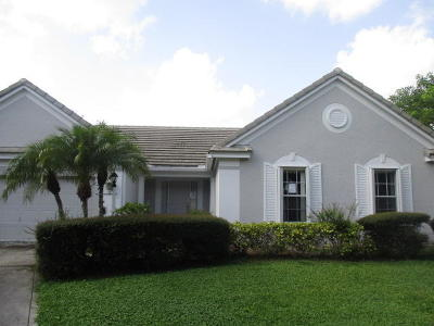 Lake Worth Single Family Home For Sale: 6262 Cog Hill Court