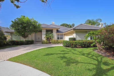 Jupiter Single Family Home For Sale: 107 Jeanette Way