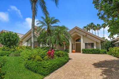 Palm Beach Gardens Single Family Home For Sale: 13813 Rivoli Drive