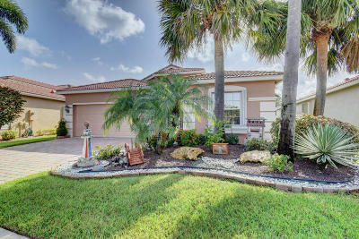 Lake Worth Single Family Home For Sale: 6812 Pisano Drive