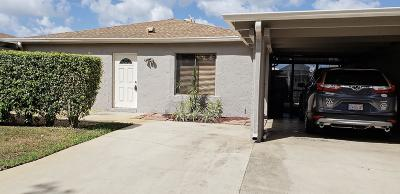 delray beach Single Family Home For Sale: 14918 Wildflower Lane