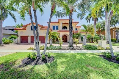 Boca Raton Single Family Home For Sale: 7464 Fairway Trail