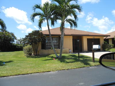 Greenacres FL Single Family Home For Sale: $179,900