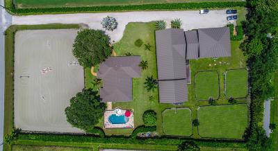 Wellington Single Family Home For Sale: 14343 Equestrian Way