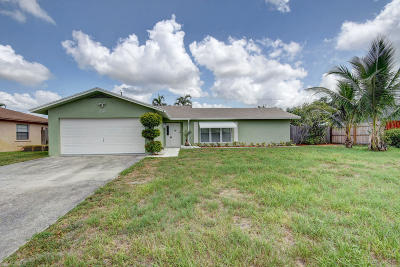 Boynton Beach Single Family Home Contingent: 3585 Coelebs Avenue