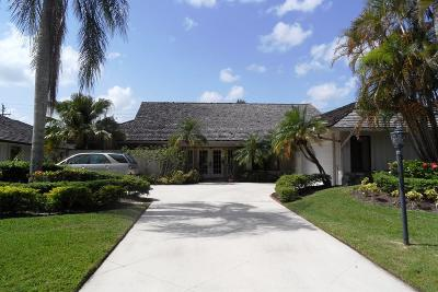 Palm Beach Gardens Single Family Home Contingent: 166 Thornton Drive