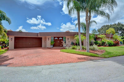 Tamarac Single Family Home For Sale: 5712 S Travelers Palm Lane