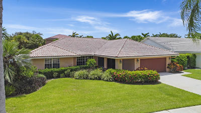 Boynton Beach Single Family Home Contingent: 2736 SW 23rd Cranbrook Drive