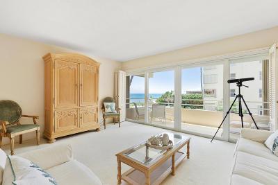 Highland Beach Condo For Sale: 2701 S Ocean Boulevard #23