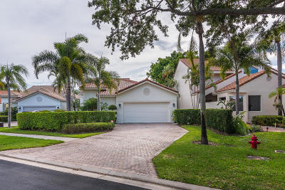 Boca Raton Single Family Home For Sale: 17058 Newport Club Drive