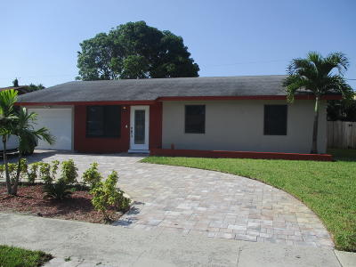 Boynton Beach Single Family Home For Sale: 420 SE 34th Avenue Avenue