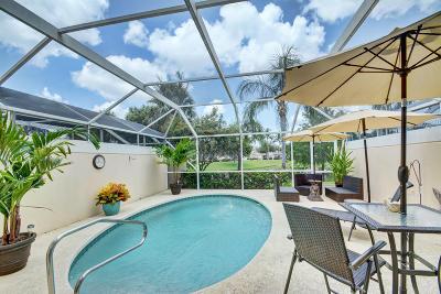 Palm Beach Gardens Townhouse For Sale: 445 Capistrano Drive