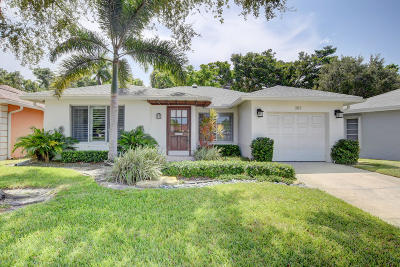 Boca Raton Single Family Home Contingent: 383 SW 5th Way