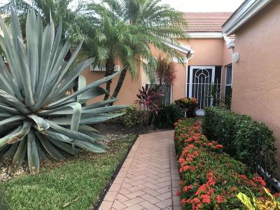Boynton Beach Single Family Home For Sale: 5658 Royal Lake Circle