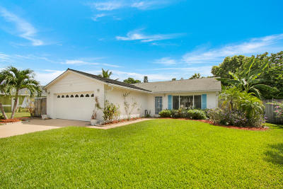 Jupiter Single Family Home Contingent: 108 Banyan Circle