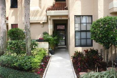 Palm Beach Gardens Townhouse For Sale: 2320 Treasure Isle Drive #A73