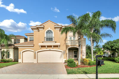 West Palm Beach Single Family Home For Sale: 3155 Eden Court