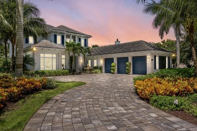 Palm Beach Gardens FL Single Family Home For Sale: $3,399,000