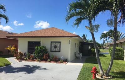 West Palm Beach Single Family Home For Sale: 5423 Mendoza Street #80b