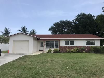 Boca Raton Single Family Home For Sale: 2200 NW 4th Avenue