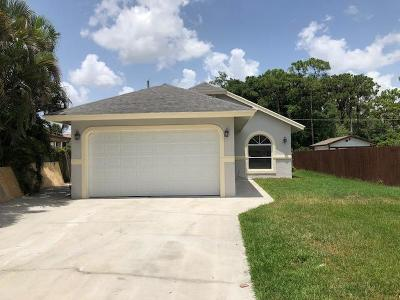 Delray Beach Single Family Home For Sale: 5375 Adams Road
