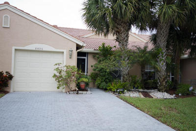 Boynton Beach Single Family Home For Sale: 8486 Logia Circle