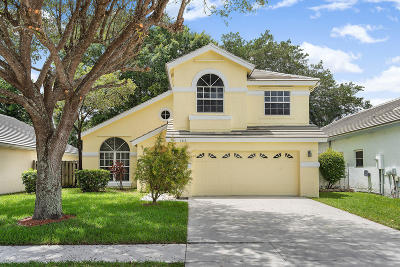 Lake Worth Single Family Home For Sale: 7416 Ashley Shores Circle