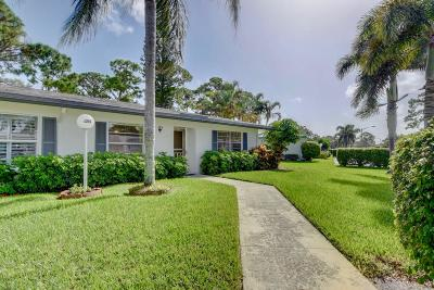 Delray Beach Single Family Home For Sale: 5295 Poppy Place #D