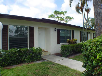 Delray Beach Single Family Home For Sale: 5087 Poppy Place #B