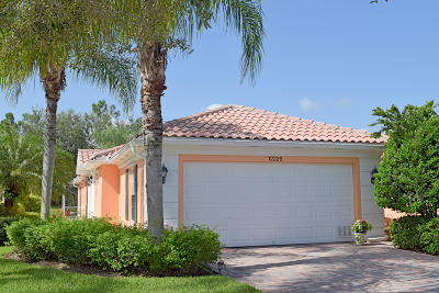 Port Saint Lucie Single Family Home For Sale: 12225 SW Elsinore Drive