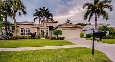 Delray Beach Single Family Home For Sale: 13140 Vedra Lake Circle