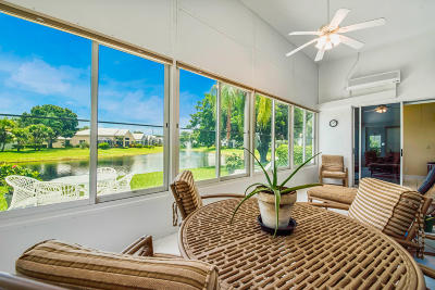 Boynton Beach Single Family Home For Sale: 11816 Fountainside Circle