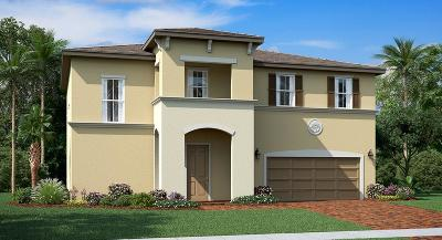 Port Saint Lucie Single Family Home For Sale: 7696 NW Greenspring Street #38