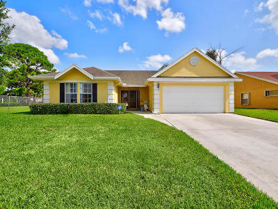 Boynton Beach Single Family Home For Sale: 6445 Indian Wells Boulevard