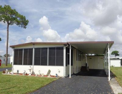 Boynton Beach FL Mobile Home For Sale: $67,500