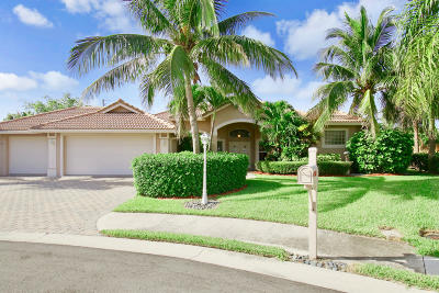 Tequesta Single Family Home Contingent: 523 Cypress Court
