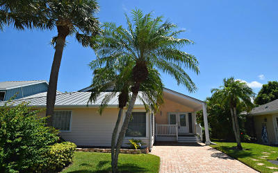 Jensen Beach Single Family Home For Sale: 3266 NE Catamaran Terrace