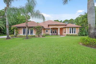 Palm Beach Gardens Single Family Home For Sale: 15319 75th Avenue