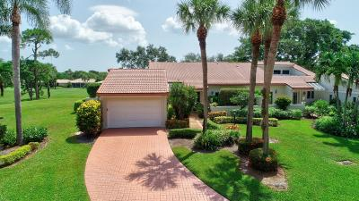 Boynton Beach Single Family Home For Sale: 11 Glens Drive W