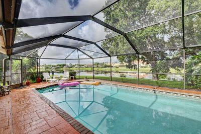 Boca Raton Single Family Home For Sale: 17331 Spring Tree Lane