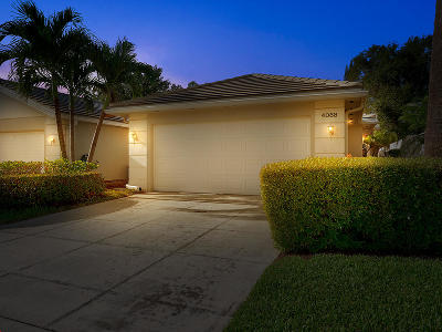Palm Beach Gardens Single Family Home For Sale: 4088 Old Oak Drive