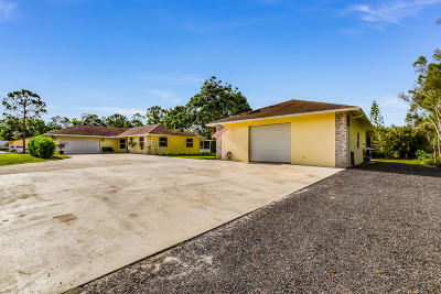 West Palm Beach Single Family Home For Sale: 12188 66th Street