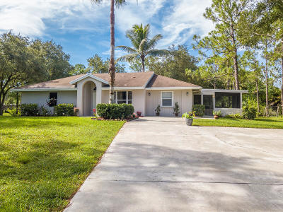 Loxahatchee Single Family Home For Sale: 17476 89th Place