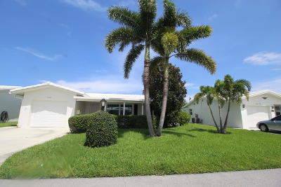 boynton beach Single Family Home For Sale: 1108 SW 17th Street