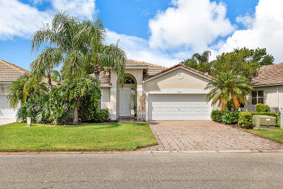 West Palm Beach Single Family Home For Sale: 8644 San Andros