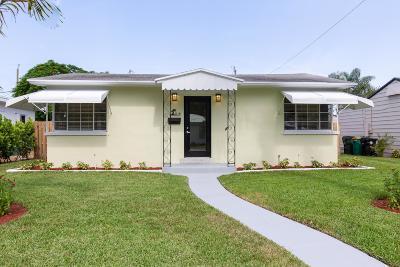 Lake Worth Single Family Home For Sale: 1114 K Street