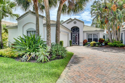 Boynton Beach Single Family Home For Sale: 6306 Water Lilly Lane